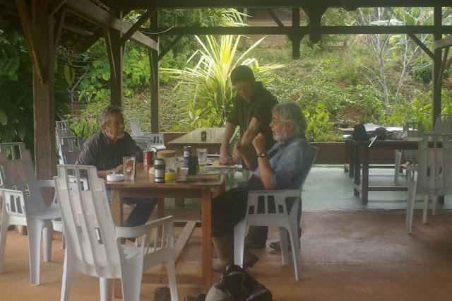 Camp Patawa, Montagne de Kaw (Guyane). 15 novembre 2011. Photo : J.-M. Gayman