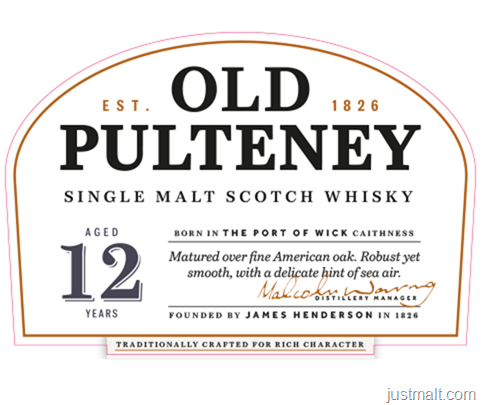 Old Pulteney Single Malt Scotch 12-Year