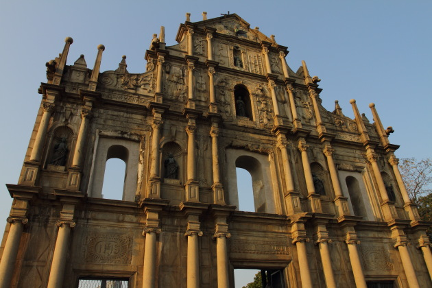Ruins of St. Paul's at Macau