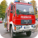 Fire Truck Simulator 3D Icon