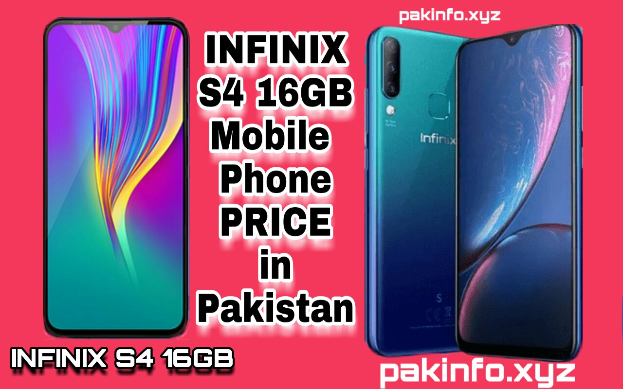 Infinix S4 16GB Price in Pakistan