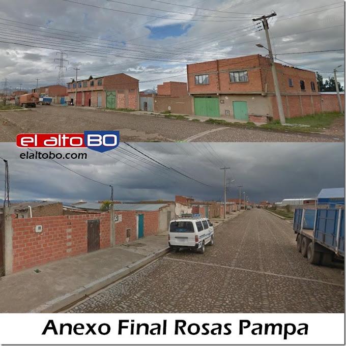 Anexo Final Rosas Pampa: zona del Distrito 1 de El Alto