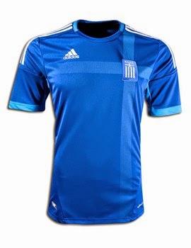 áo bóng đá đội tuyển hy lạp sân khách