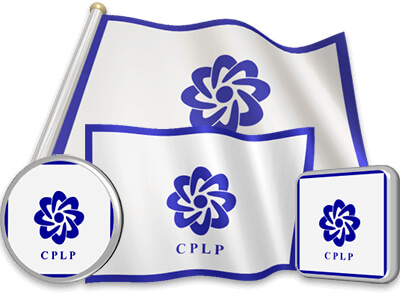 CPLP flag animated gif collection