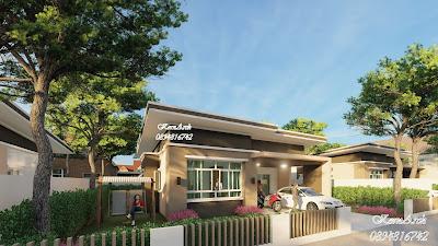 รับออกแบบบ้านชั้นเดียว  เจ้าของโครงการ บริษัทเคกรุ้ปซัพพลาย จำกัด  สถานที่ก่อสร้าง อ.บางพลี จ.สมุทรปราการ