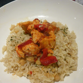 Moroccan Chicken with Rice Recipe