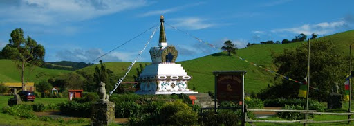 Stupa at Mahamudra Centre, April 2011, New Zealand