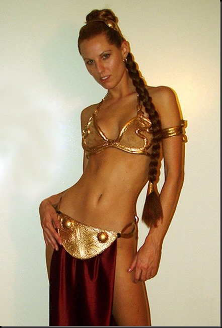 Princess Leia - Golden Bikini Cosplay_865825-0023