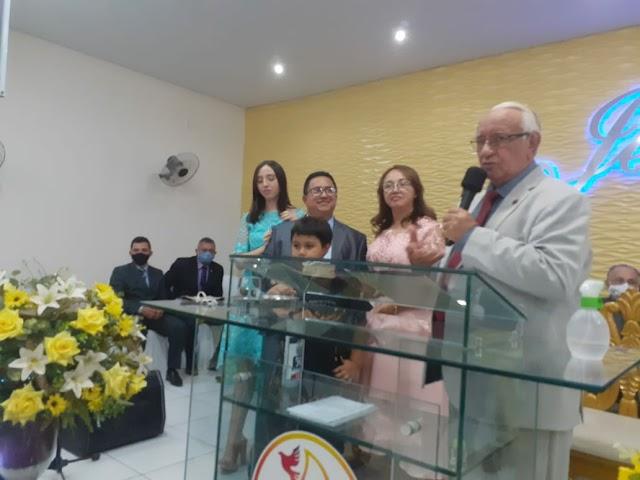 Pastor João Bezerra participa do aniversário do pastor Márcio em cidade alta- limoeiro