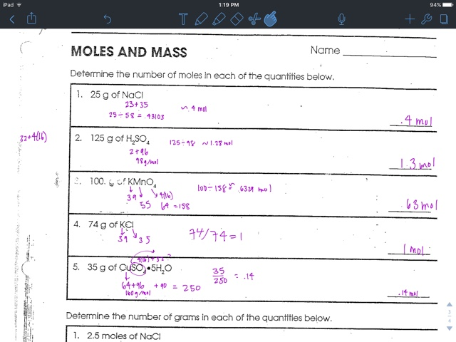 Liakeenerchemistry Gram Formula Mass Worksheet – Gram Formula Mass Worksheet