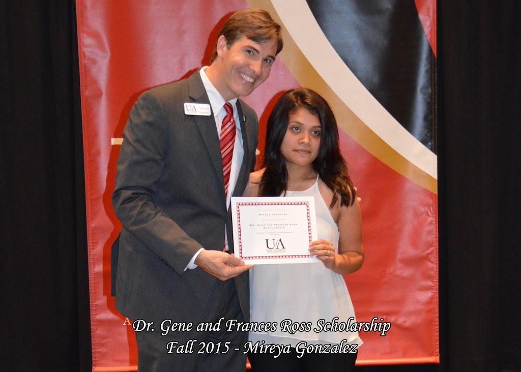 Scholarship Ceremony Fall 2015 - Gene%2BRoss%2B-%2BMireya%2BGonzalez.jpg