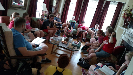 Starting each day with group Bible Study is a GREAT way to get started right!