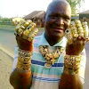 The Man Who Wears 248 Of Gold Rings - See Pictures.
