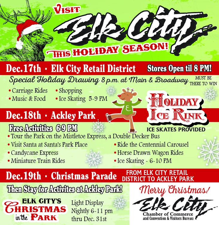 Elk City Holiday Flyer