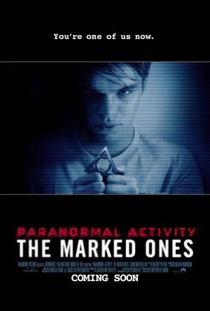 Filme Poster Atividade Paranormal: Marcados pelo Mal CAM XviD & RMVB Legendado