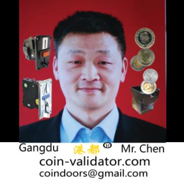 Hong CHEN Autor de GD066B  selectores Aceptadores de monedas