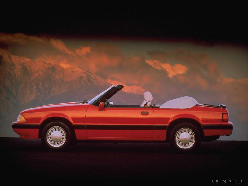 1991 Ford Mustang Convertible Specifications  Pictures  Prices