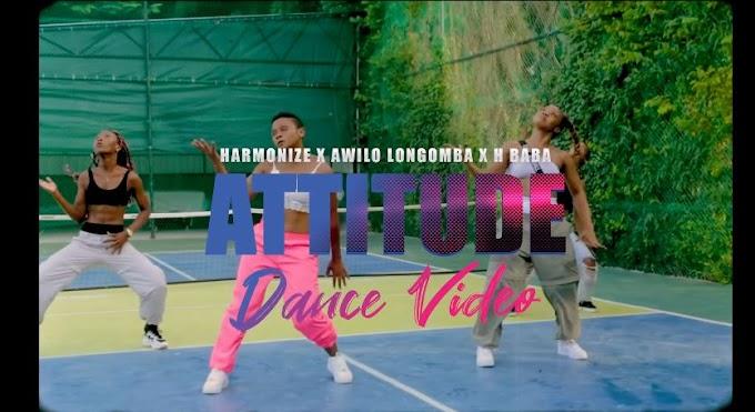 VIDEO: Harmonize x Awilo Longomba x H Baba - Attitude (Dance Video) | Mp4 Download  Awilo Longomba, H Baba, Harmonize