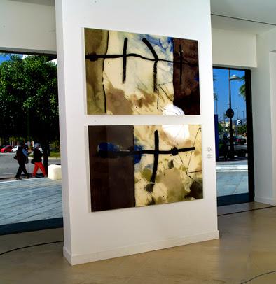 Labella, Antonio - Detalle exposición Cinco huellas