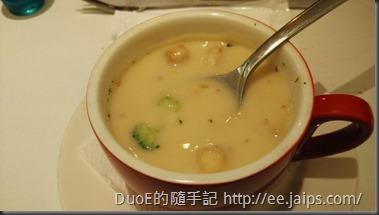 新竹西堤Tasty-綠花椰巧達濃湯2
