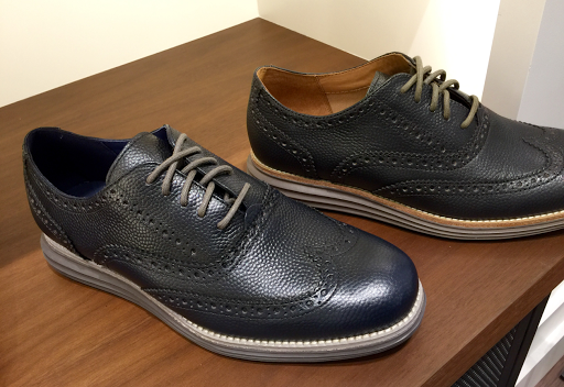 There is also a full black model for the more conservative office look,  though the Cole Haan's feel very comfortable in a corporate setting even  with these ...