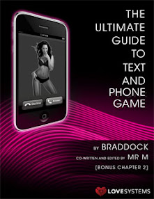 Cover of Love Systems's Book The Ultimate Guide To Text And Phone Game Bonus Chapter 2