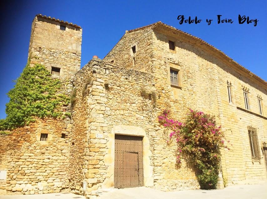 Torre del Homenaje del castillo de Peratallada