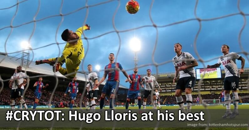 Hugo Lloris in action