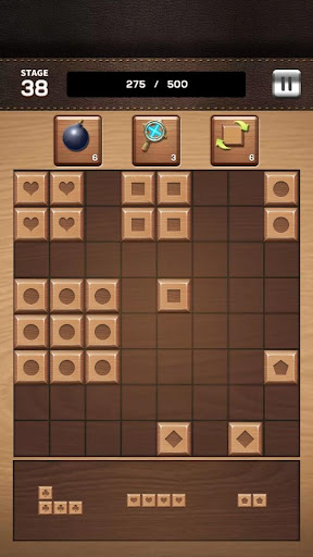 Screenshots von Wood Block Match 8