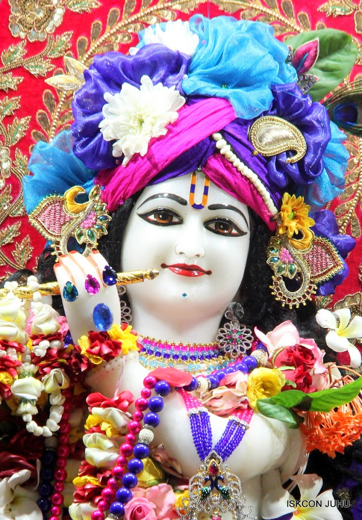 ISKCON Juhu Sringar Deity Darshan on 1st May 2016 (14)