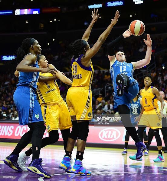 WNBA MVP Nneka Ogwumike Rocks LeBron Solder 10 Sparks PEs