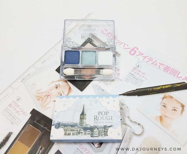 [Review] Emina Pop Rouge Eye Shadow Blue