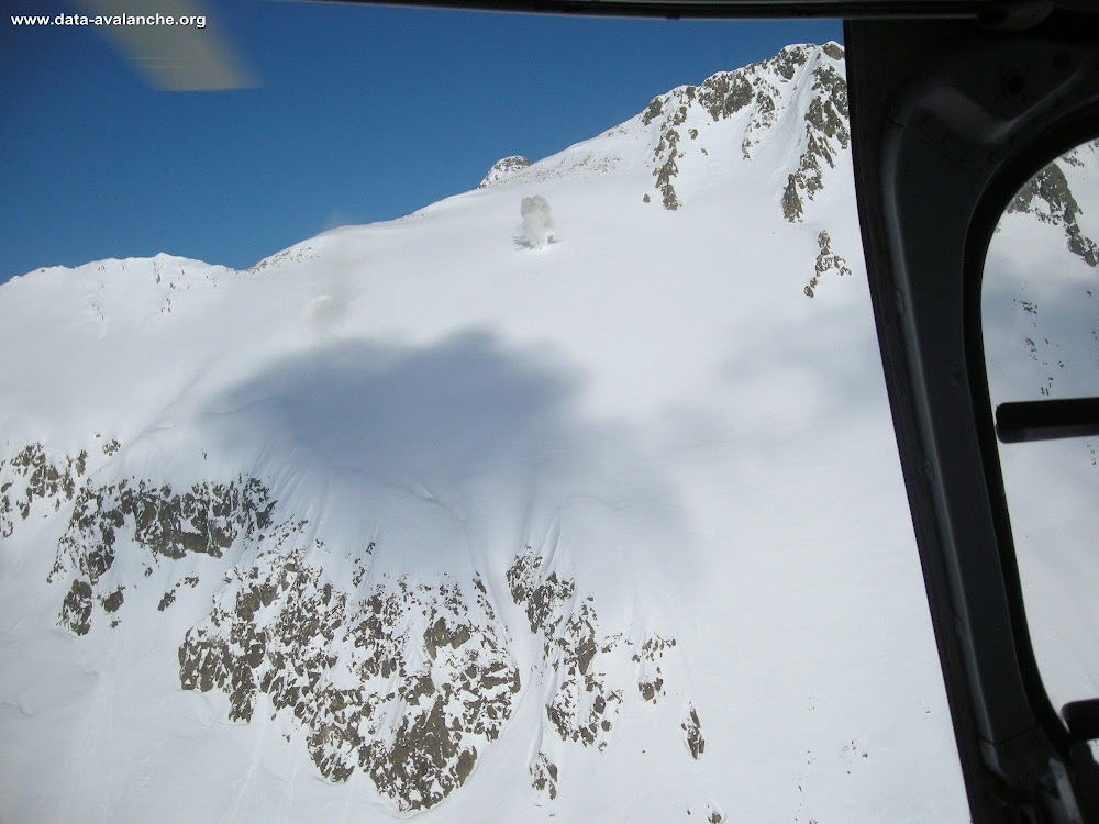 Avalanche Mercantour, secteur Isola 2000, Combe Grosse - Photo 1
