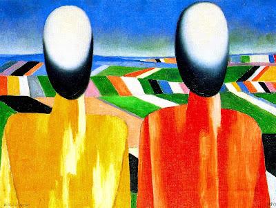 Kazimir Malevich - Peasants, 1930