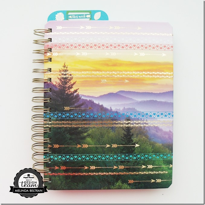 Live Organized Paper House Productions Planner
