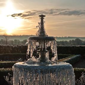 Frozen Fountain by Ian Flear - Artistic Objects Other Objects