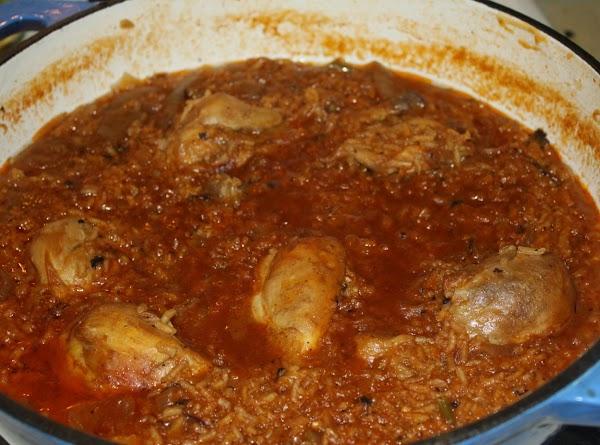 Mom's Citrus Chicken With Rice Recipe