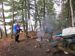 Frontenac Park Canoe Trip - May 2012