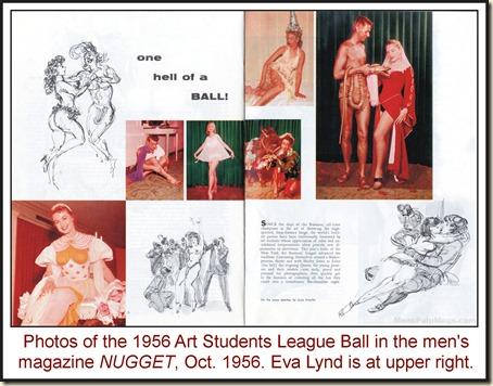 NUGGET, Oct 1956 - Art Students League Ball