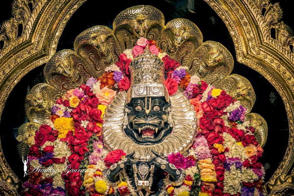 ISKCON Mayapur Deity Darshan 13 Jan 2017 (20)