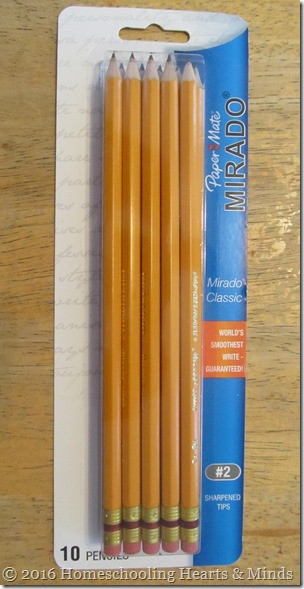 Mirado Classic yellow pencils