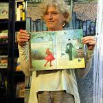 Boekpresentatie en voorlees voorstelling IK WIL ZINGEN 2015 Nieuwe Boekhandel van Monique Burgers 5.JPG