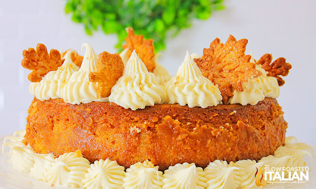 Whole sweet potato cheesecake