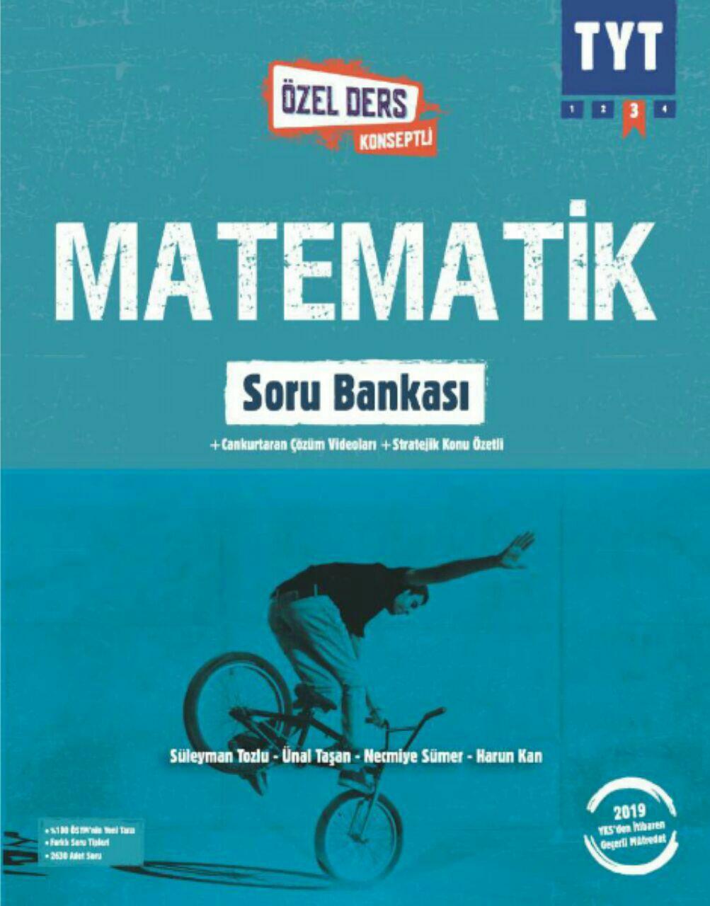 Okyanus Yayınları TYT Matematik Soru Bankası