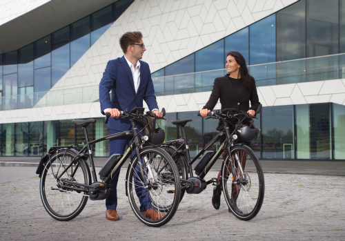 bikespektakel in Jaarbeurs