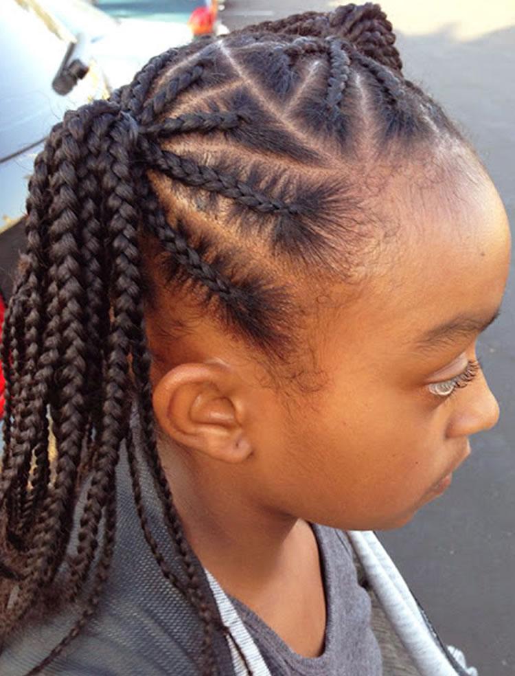 Trendy hairstyles for black little girls 2018-2019 4