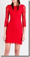 Diane von Furstenberg Zarita Lace Dress - Black Also