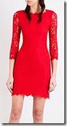 Diane von Furstenberg Zarita Lace Dress - Black Also