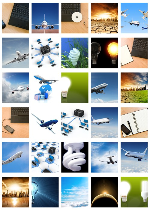 Stock Photo: Equipment and technologies