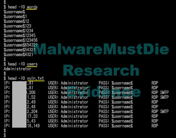 Malware Must Die!